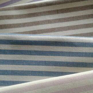 Tessuto cotone a righe