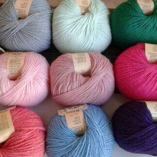 Lana mista (50% lana 50% acrilico)