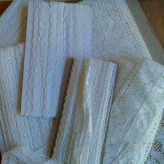 Pizzi cotone Bianco